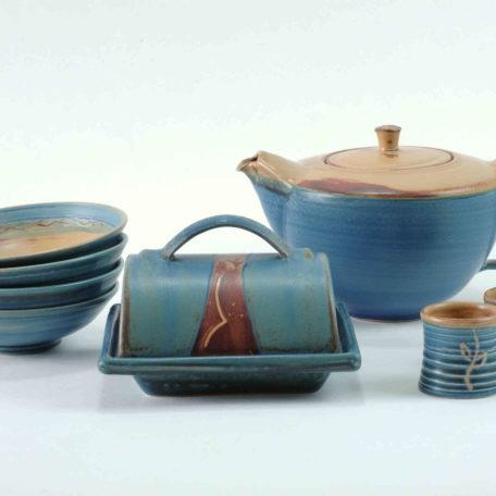 keramik-luchtmann-butterdose-.blau-kanne-hannover