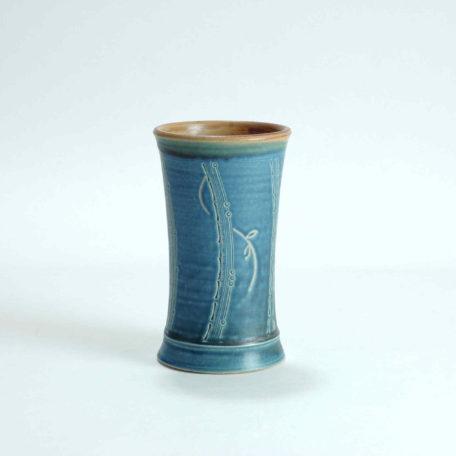 keramik-luchtmann-flora-vase-blau-hannover
