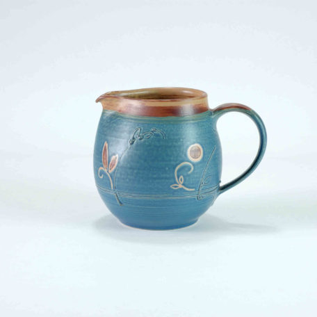 keramik-luchtmann-krug-blau-tuelle-henkel-hannover