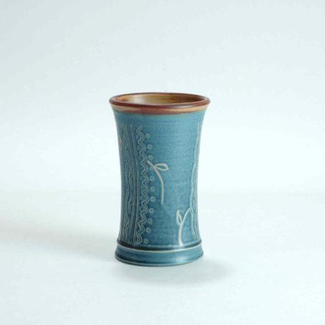 keramik-luchtmann-vase-flora-blau-hannover