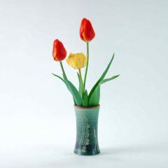 Vase, Tischvase, Flora, grün